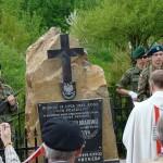 """Uroczystości ku czci żołnierzy AK z Oddziału """"Wybranieccy"""", którzy polegli pod Leszczynami"""