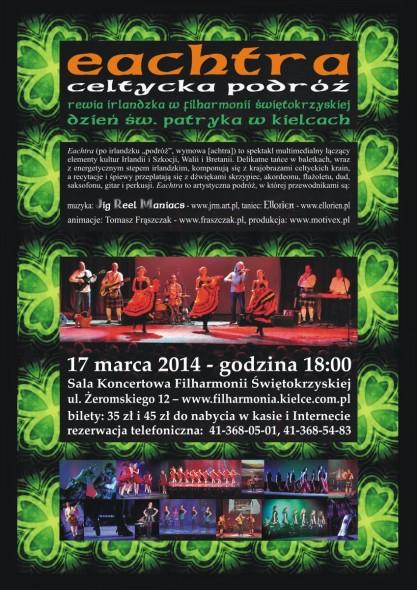 Afisz_EACHTRA-2014.03.17_Kielce_FS_Paddy_Internet
