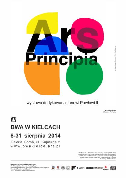 Ars principia plakat_BWA Kielce