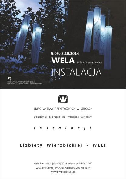 e_zaproszenie Wela Elżbieta Wierzbicka_Instalacja
