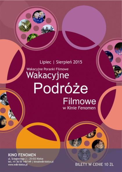 WAKACYJNE PODRÓŻE FILMOWE 2015 mały