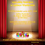 Spotkanie z aktorem – warsztaty teatralne w Aptece Wyobraźni – trwa rekrutacja na zajęcia
