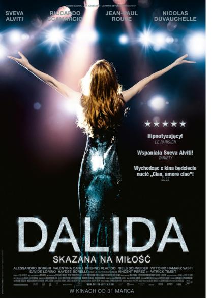 DALIDA - polski plakat filmu