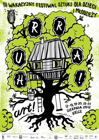 plakat festiwal Hurra ART 3