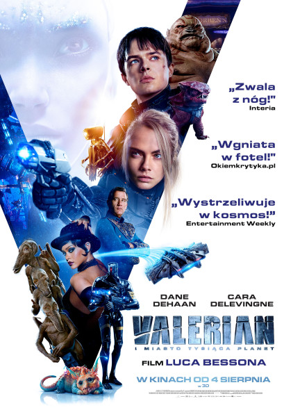 valerian nowy plakat