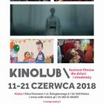 Międzynarodowy Festiwal Filmów dla Dzieci i Młodzieży KINOLUB / KINO FENOMEN /11-21 CZERWCA 2018