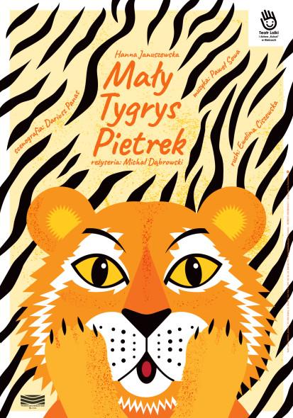plakat Mały Tygrys Pietrek