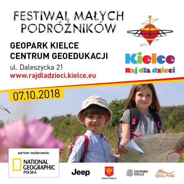 Festiwal Malych Podroznikow Kielce Raj dla dzieci organizowany przez Miasto Kielce i National Geographic