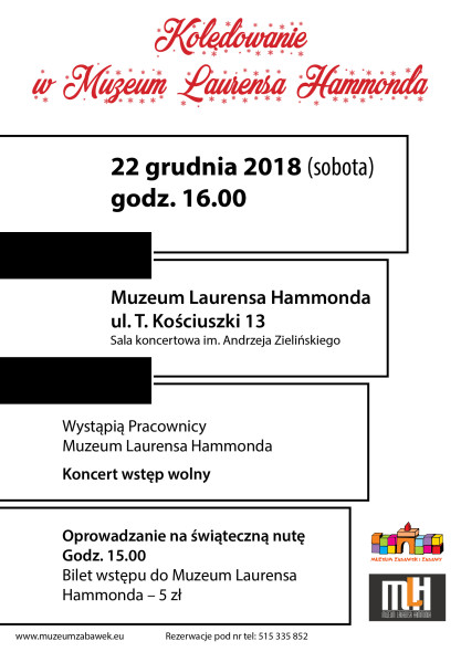 Muzeum Laurensa Hamonda-koncert