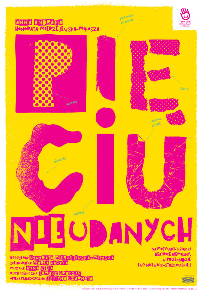 plakat Pięciu Nieudanych