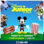 Disney Junior w Kinie – kolejna edycja w kinie Helios 16-17.11!