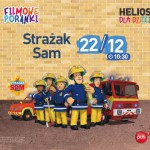 Filmowe Poranki ze Strażakiem Samem 22.12 HELIOS!