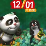 Filmowe Poranki: Krecik i Panda, cz.VII – HELIOS 12.01!