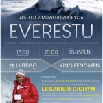 40-lecie zimowego zdobycia Everestu w kinie Fenomen – 28 lutego 2020r.