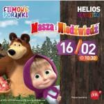 Filmowy Poranek z Maszą i Niedźwiedziem w Heliosie 16.02 !